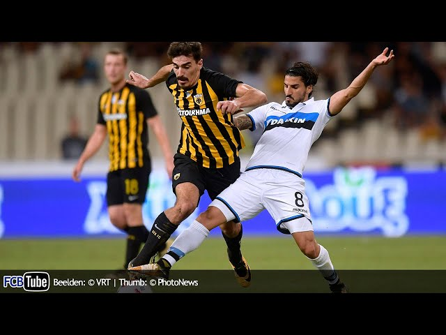 2017-2018 - Europa League - 02. 3de Voorronde - AEK Athene - Club Brugge 3-0
