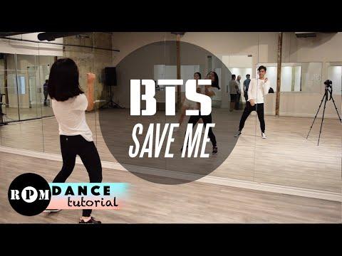 "BTS ""Save Me"" Dance Tutorial (Chorus)"