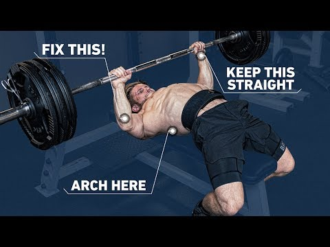 How To Get A Huge Bench Press with PERFECT Technique (Fix Mistakes) | Technique Tuesday Ep. 1