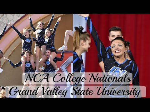 NCA College Nationals 2017// GRAND VALLEY STATE UNIVERSITY // Livin Like Lyss