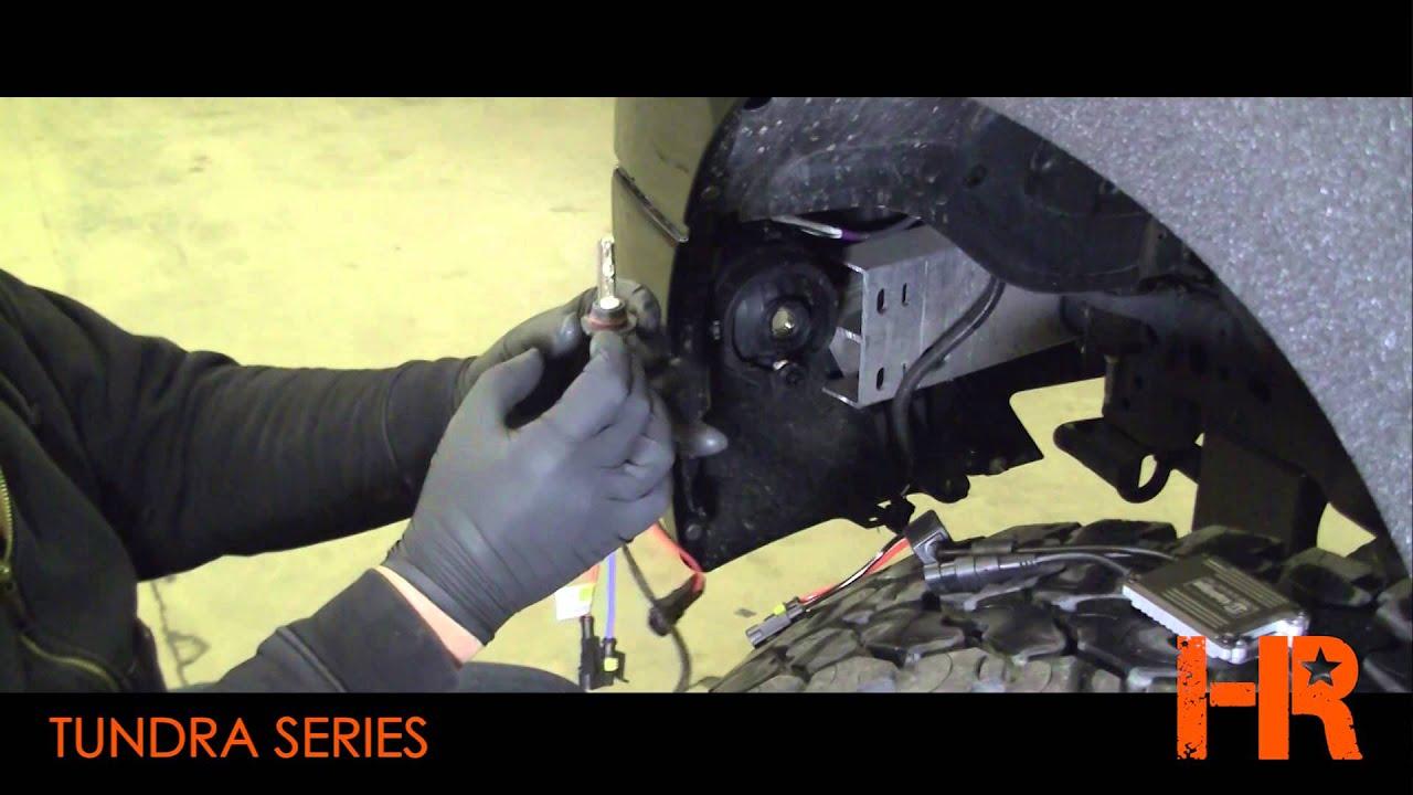 2007 2013 Toyota Tundra Foglights Headlight Revolution 2008 Wiring Diagram Lights Series 1 Youtube