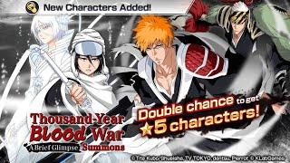 Thousand Year Blood War: A Brief Glimpse Summons! 5* Ichigo, Rukia, & Renji: Bleach Brave Souls