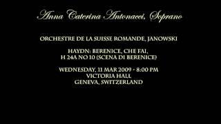 SCENA DI BERENICE-Haydn-Anna Caterina Antonacci, Soprano