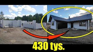 Ile kosztuje budowa domu? Kosztorys budowy domu SSZ 2021. Dom parterowy jednorodzinny cena