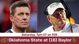 Oklahoma State at Baylor Preview  - Breaking The Huddle with Joel Klatt