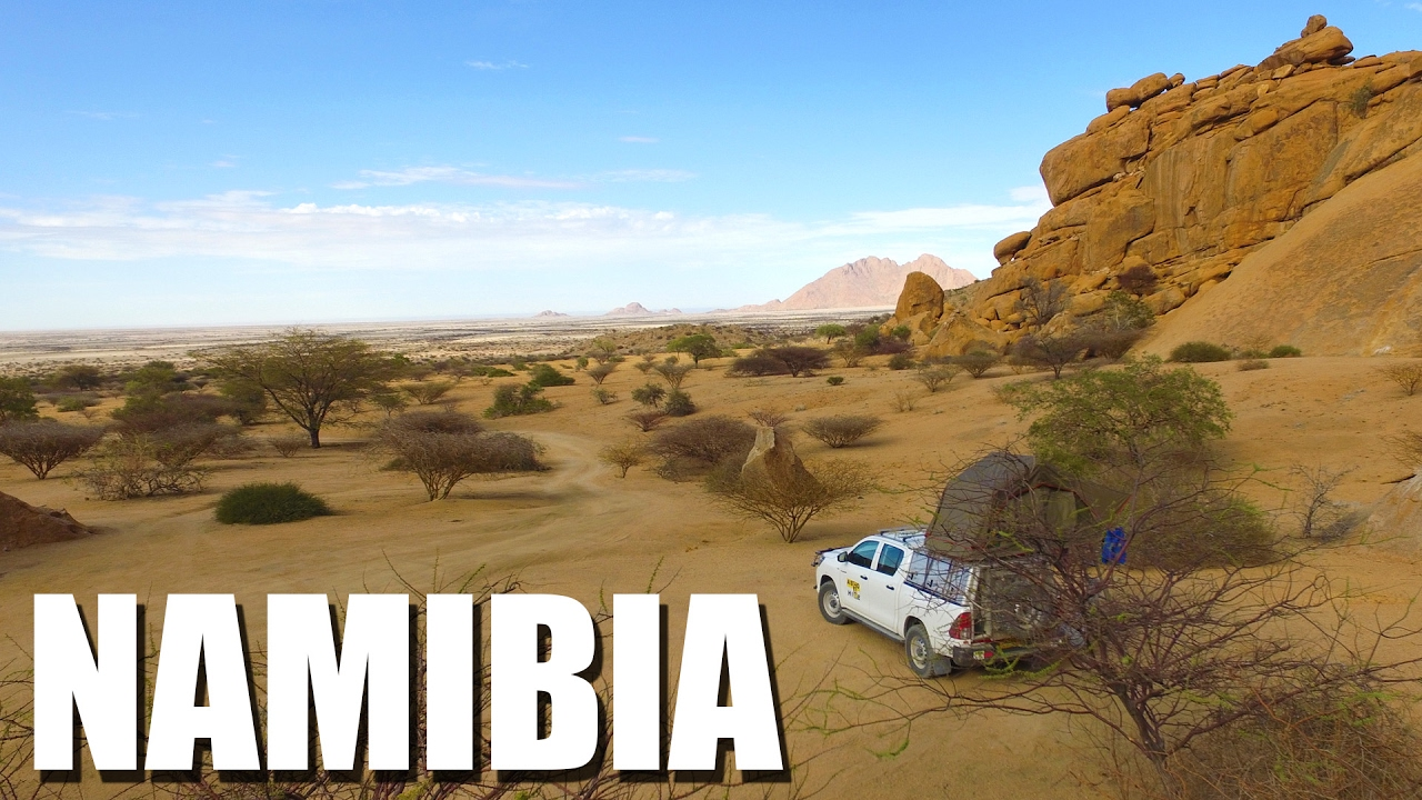 Best Of Namibia 2017 Safari Camping Highlights Youtube