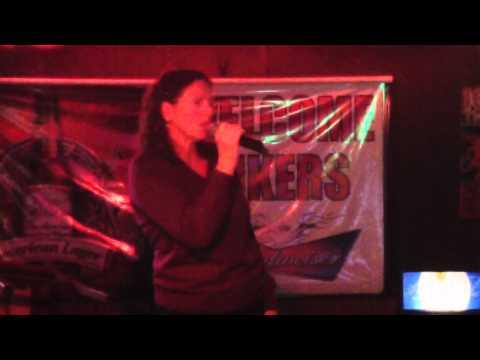 "Billie Holiday - Good Morning Heartache - Karaoke cover by ""blueprint blue"" Peg"
