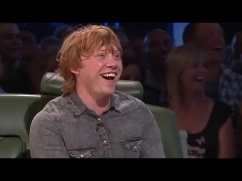 Rupert Grint  and Lap  Top Gear  BBC