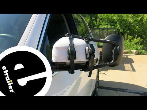 Etrailer | K Source Universal Clip-On Towing Mirror Installation - 2016 BMW X5