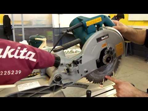 Uso de herramientas - Sierra ingletadora (demo)