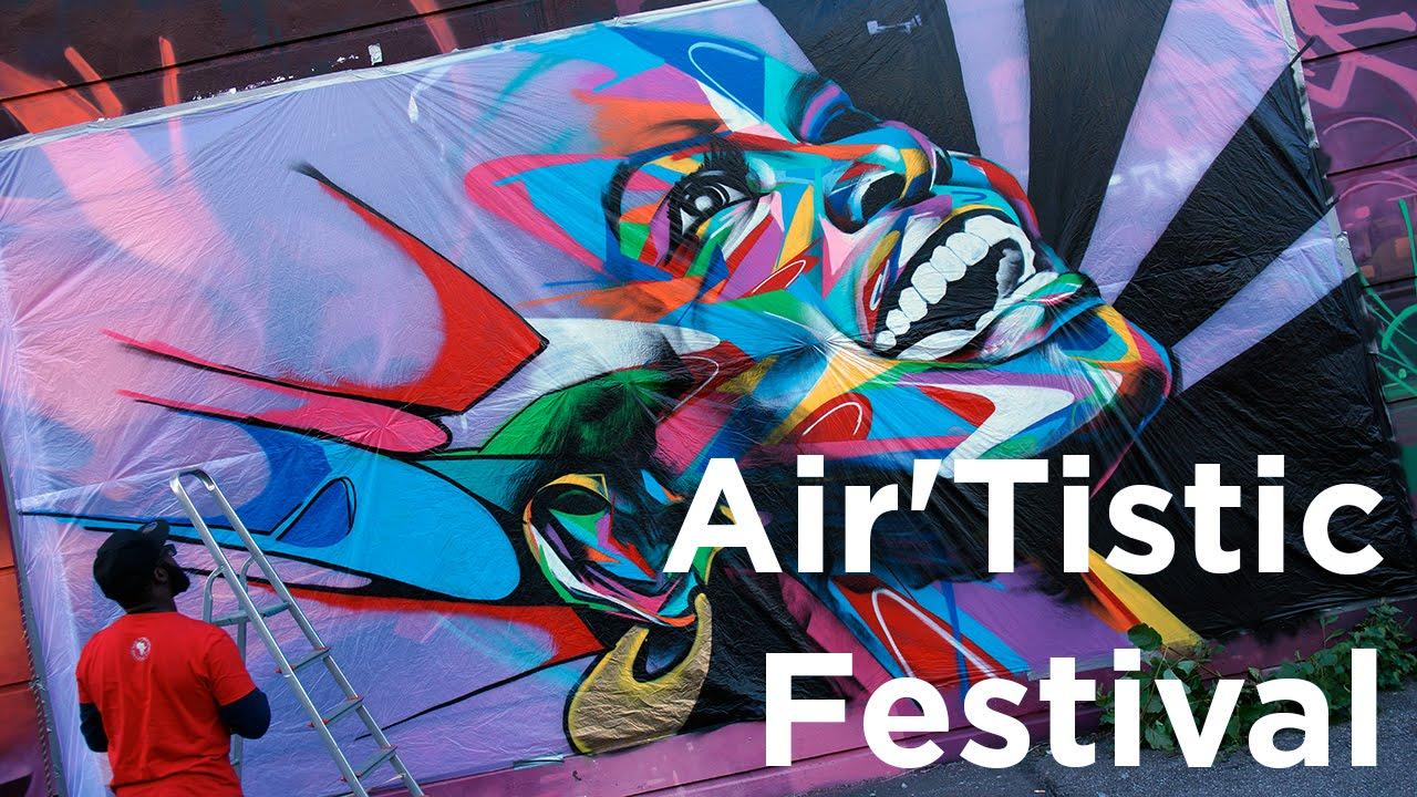 Air Tistic Festival Cham Shake Chamonix Mont Blanc Graffiti Graff Graffeurs Street Art Culture