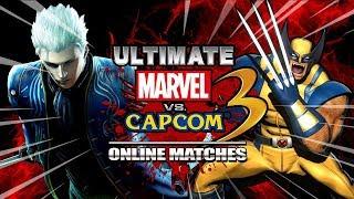 VERGIL RUINS EVERYTHING: Ultimate Marvel Vs. Capcom 3 - Online Matches