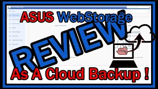 Using Asus WebStorage as 1 TB CLOUD BACKUP !  My Review after 1 Week. Is it Good Or SCAM? screenshot 2