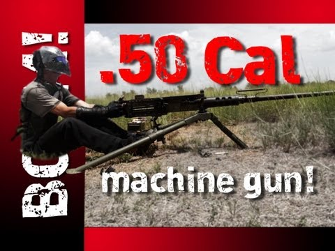 50 Caliber Machine Gun Destroys Zombies Once and for All [VIDEO]