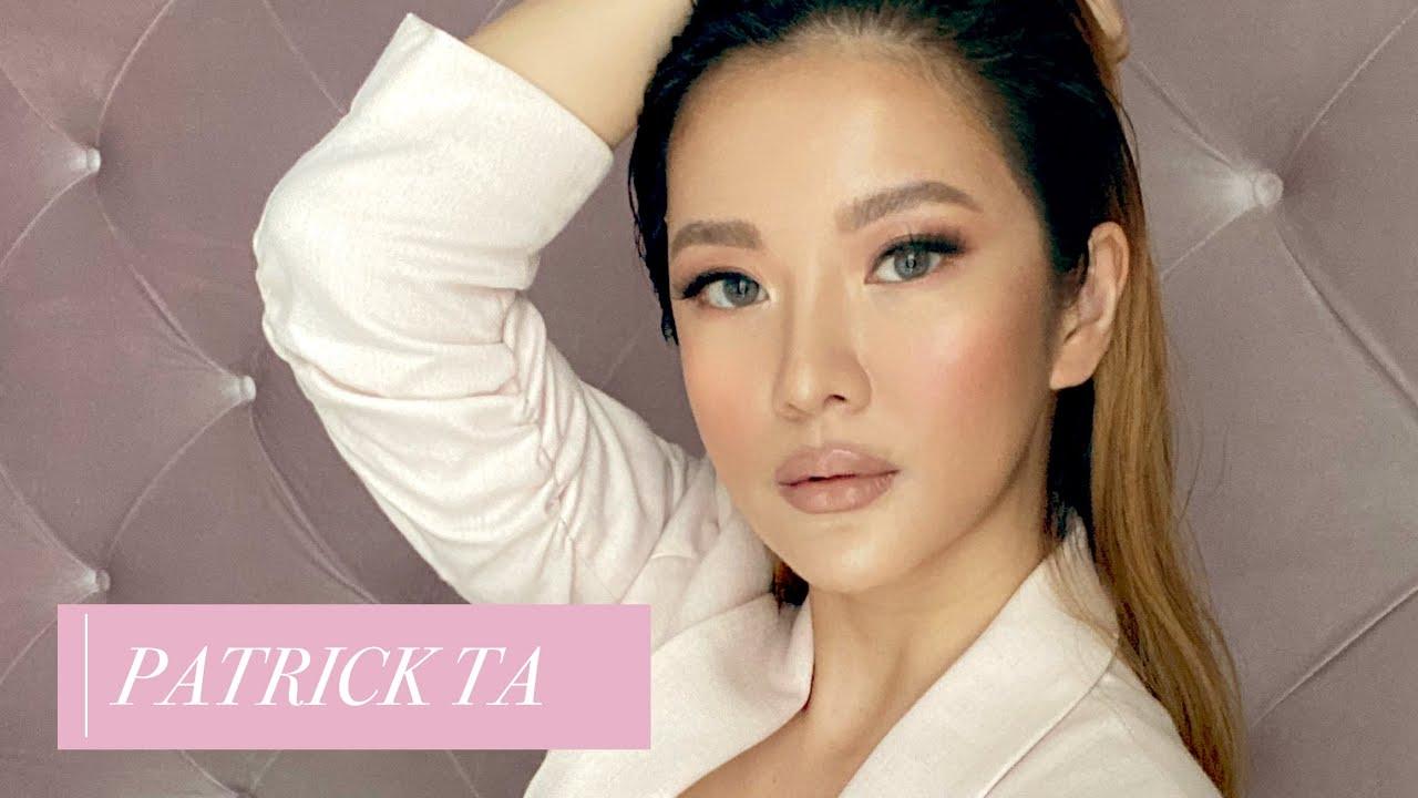 I Followed a Patrick Ta Makeup Tutorial - My Skin is GLOWING!⎮Emily Quak