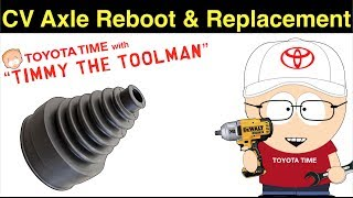 CV Axle Reboot & Replacement With CV Boot Stretch Mod