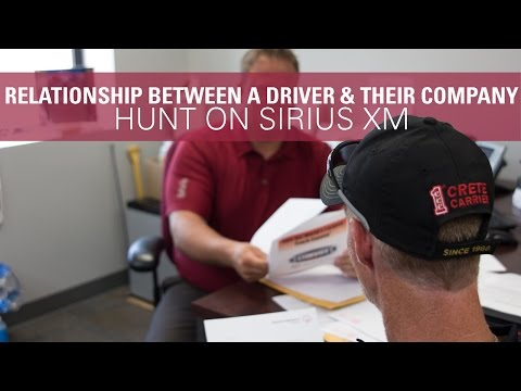 A Driver and their Company - Hunt on SiriusXM