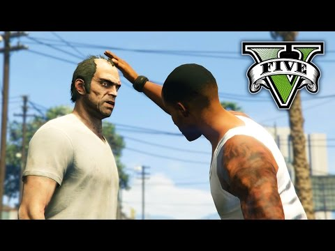 GTA V - Trevor meets CJ
