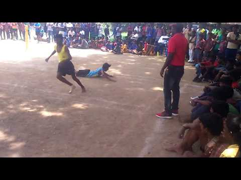 kho-hko- match 33rd state kho-kho tournament in chennai avichi school 2017