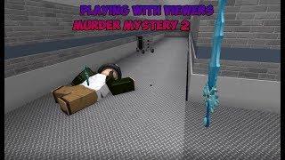 ROBLOX LIVE ? MURDER MYSTERY 2 CON VISORES!