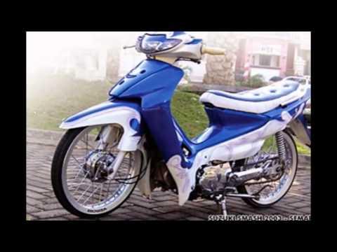 Video Modifikasi Motor Suzuki Smash Ceper