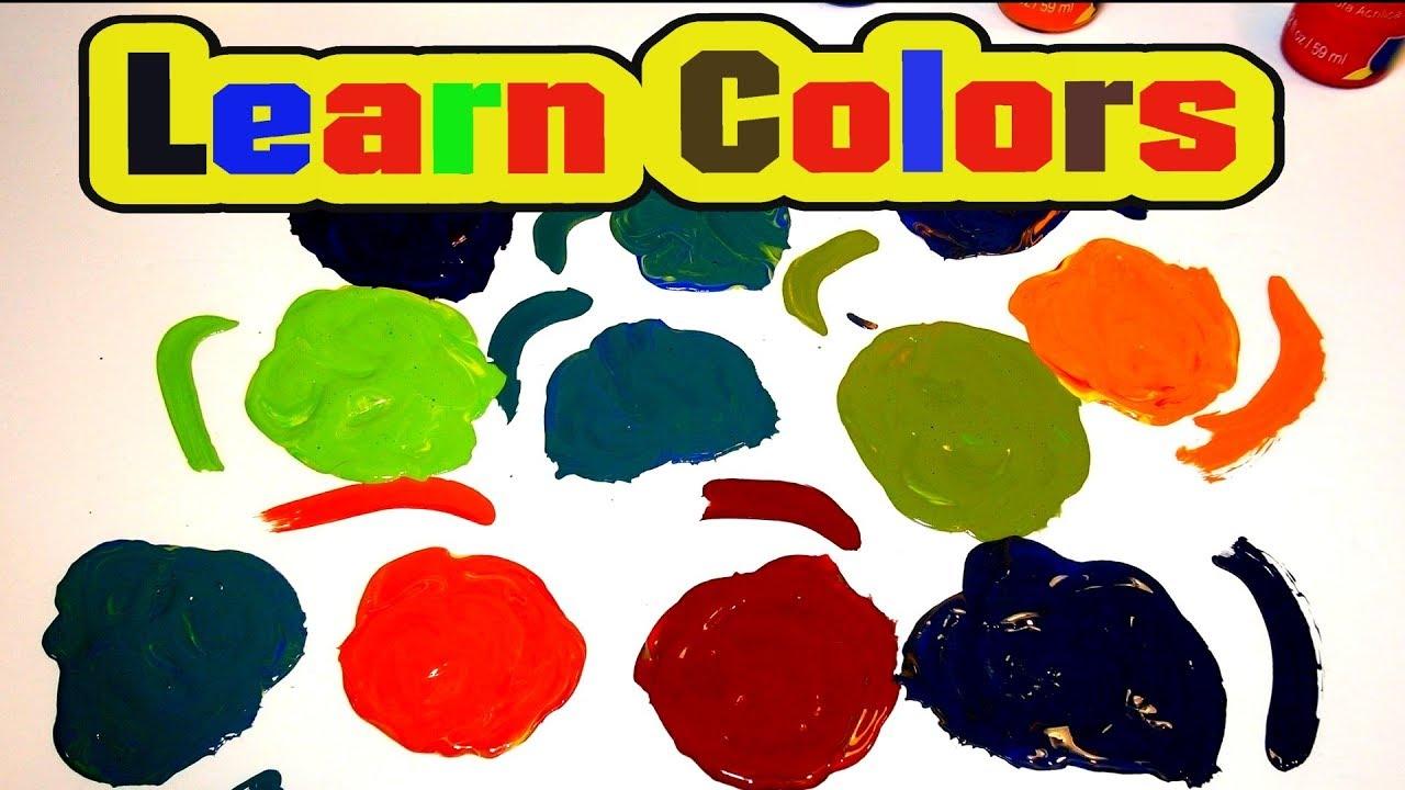 Learn Colors   Mix Paints   Nursery Rhymes   Smart   Kid Friendly ...