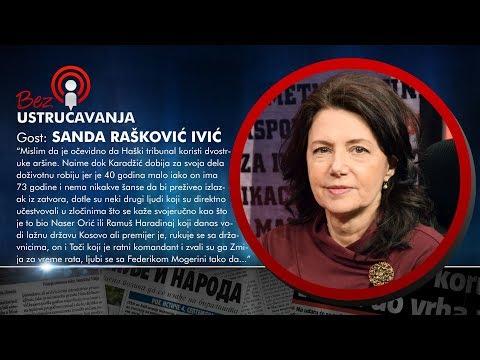 BEZ USTRUČAVANJA - Sanda Rašković Ivić: Karadžićeva presuda su dvostruki aršini Haškog tribunala!