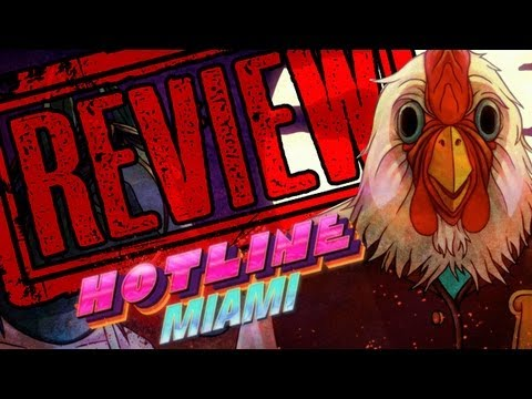 HOTLINE MIAMI REVIEW Poster