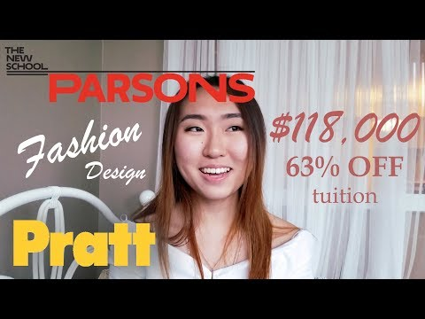 Parsons/Pratt Accepted Fashion Design Portfolio with Scholarship + Advice
