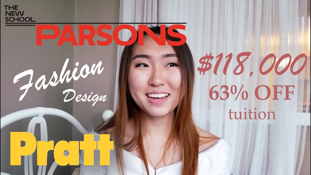 Parsons Pratt Accepted Fashion Design Portfolio With Scholarship Advice Youtube
