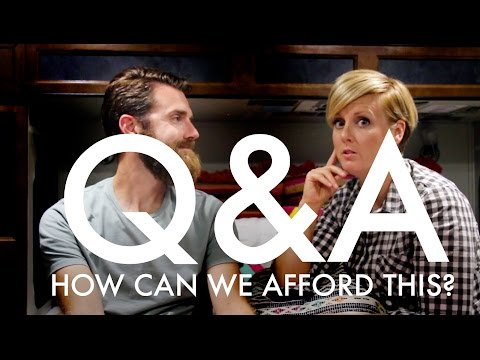 Q & A : How Can We Afford Full-time Travel?  : RV Full-time w/9 kids