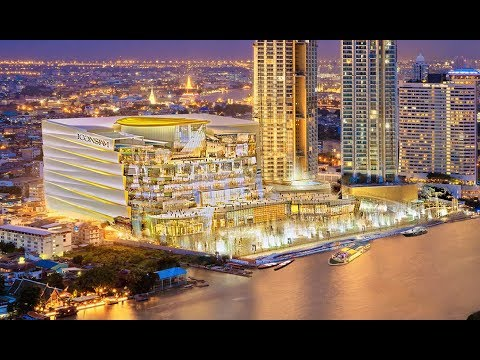 BANGKOK NEWEST AND BIGGEST LUXURY SHOPPING MALL- ICON SIAM LUXE. BANNGKOK, THAILAND