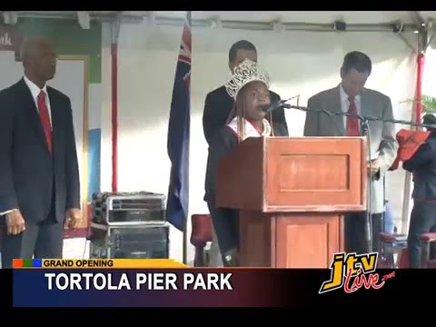 PRESS GRAND OPENING OF TORTOLA PIER PARK   16 FEBRUARY 2016
