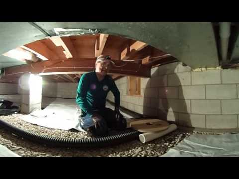 Crawlspace Radon Mitigation in Bloomington Illinois - 360 Degrees