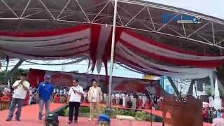 Intip Gaya Kampanye Sejumlah Elite Parpol di Makassar Dukung Prabowo Subianto Jadi Presiden RI