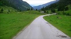 Autofahrt vom Hintersee im Felbertal zur Felbertauernstraße weiter bis Mittersill