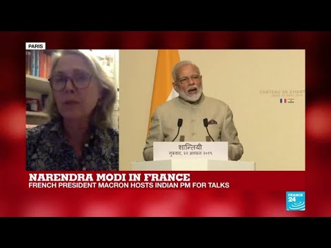 Macron sends clear message France won't interfere in Modi's management of Kashmir