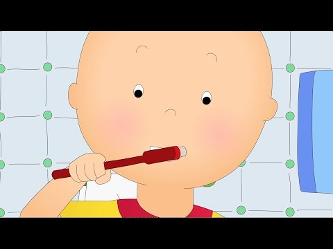 BRUSH OUR TEETH  NEW CAILLOU  OUT NOW  for kids Christmas holiday 2017  ADVERTISEMENT