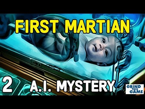 Surviving Mars - #2 FIRST MARTIANBORN - ARTIFICIAL INTELLIGENCE (AI) Mystery [4k]