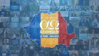Alfa Omega TV - 25 Years of ministry in the Romanian mass-media - 1994-2019