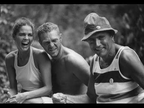 PAPILLON 1973 photos tournage - YouTube Ali Macgraw And Steve Mcqueen