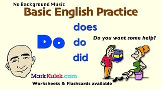 Do - Auxiliary Verb | English Speaking Practice For Communication | ESL