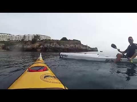 Kayak Castro Urdiales, Costeando Brazomar - Ostende.