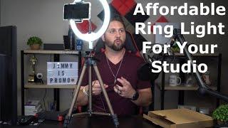 """Affordable Ring Light - Selfie Ring Light - Aureday 10"""" Ring Light"""