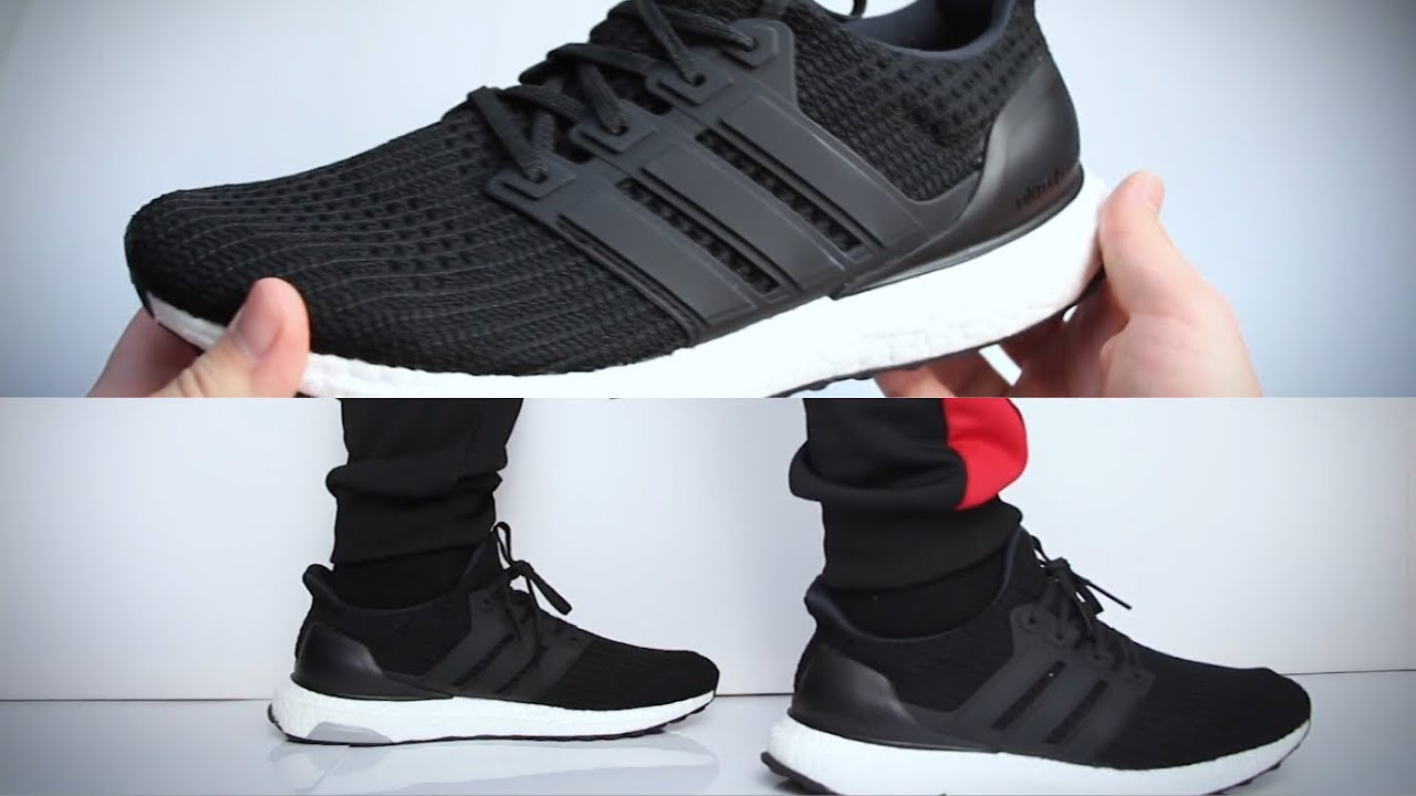 adidas Ultra Boost 4.0 Core Black (W) BB6149