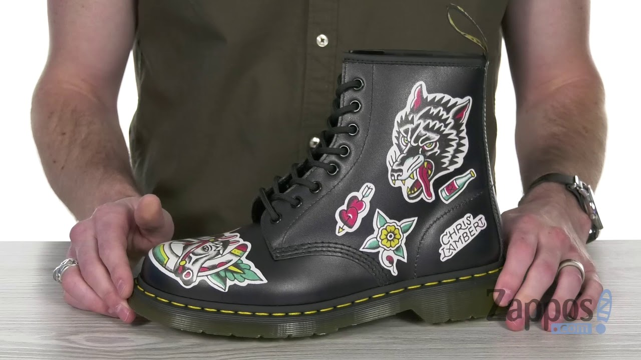 Dr Martens 1460 Tattoo Chris Lambert Sku 9057613