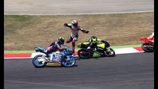 Download lagu FIM CEV Repsol Circuit Barcelona Catalunya Crash & Show 2017 (Edgar-RaceVideos)