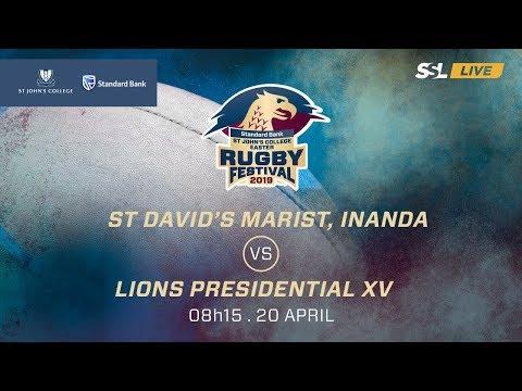 St David's Marist Vs Lions Presidential XV, St John's College Easter Rugby Festival 2019
