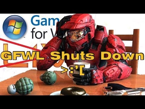 GFWL Games For Windows LIVE PC Online Service Will be shut down on July 1st 2014