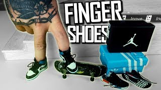 TÊNIS PARA DEDO? Fingerboard Shoes